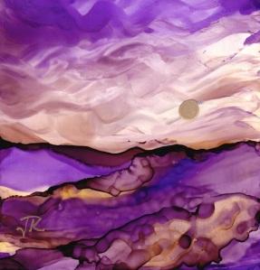 Dreamscape No. 384, 4x4 © June Rollins