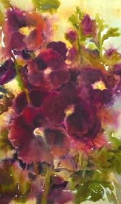 Last Hurrah Watercolor, 9x15 Dreamscaping With June Rollins®