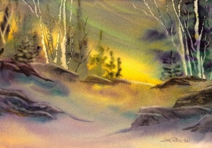 New Every Morning, 7x10 Watercolor Dreamscaping With June Rollins®