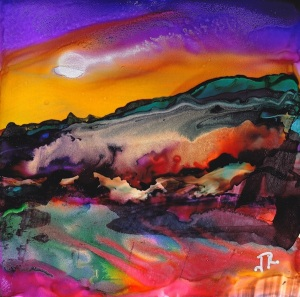 Dreamscape No. 307 - Alcohol Ink Dreamscaping  Quick Reference Guide Book Cover